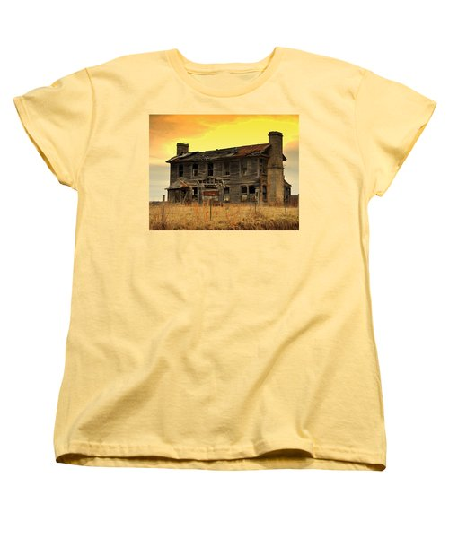 Women's T-Shirt (Standard Cut) featuring the photograph Times Past by Marty Koch