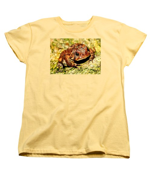 Women's T-Shirt (Standard Cut) featuring the photograph Toad by Joe  Ng