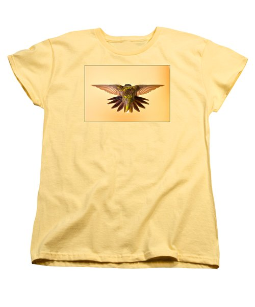 Women's T-Shirt (Standard Cut) featuring the photograph Usaf Hummingbirds Wings by Randall Branham