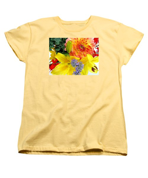 Women's T-Shirt (Standard Cut) featuring the photograph Wedding Flowers by Rory Sagner