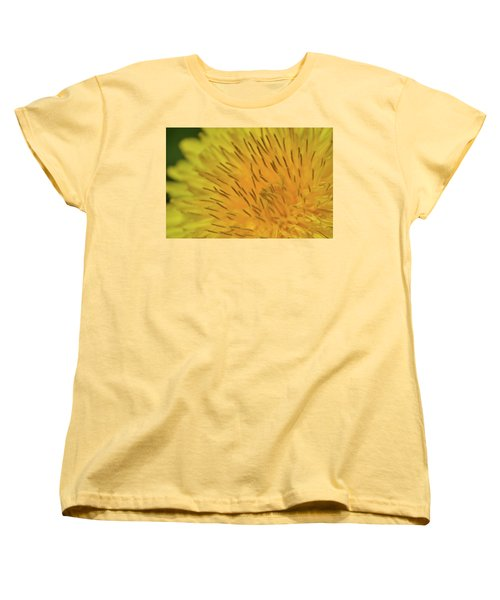 Women's T-Shirt (Standard Cut) featuring the photograph Yellow Beauty by JD Grimes