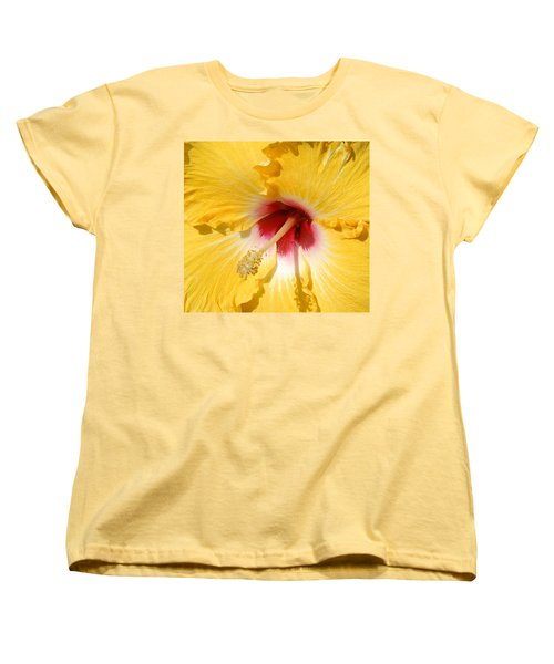 Yellow Fellow Women's T-Shirt (Standard Cut) by Cindy Manero