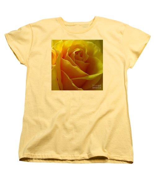 Yellow Rose Of Texas Women's T-Shirt (Standard Cut) by Sandra Phryce-Jones