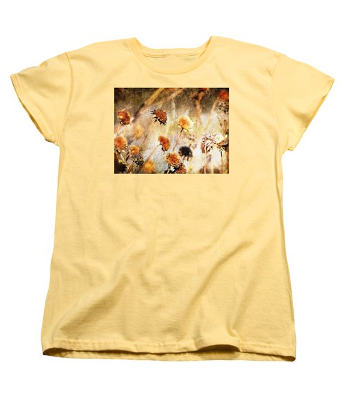 Yesterday's Flowers Women's T-Shirt (Standard Cut) by Alyce Taylor