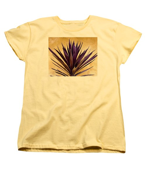 Purple Giant Dracaena Santa Fe Women's T-Shirt (Standard Cut) by John Hansen
