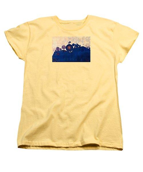 Abstract Painting - Champagne Women's T-Shirt (Standard Cut) by Vitaliy Gladkiy