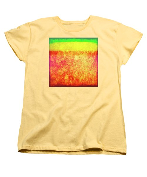 After Rothko 8 Women's T-Shirt (Standard Cut)