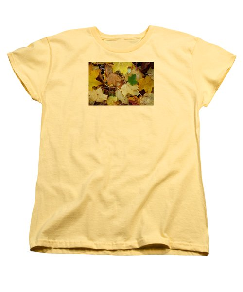 Autumn Leaves  Women's T-Shirt (Standard Cut) by Gary Bridger