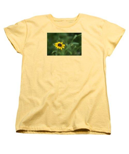 Women's T-Shirt (Standard Cut) featuring the photograph Black Eye Susan by Alana Ranney
