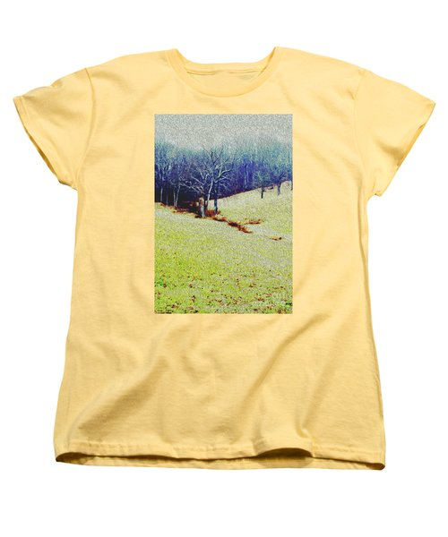 Women's T-Shirt (Standard Cut) featuring the photograph Brandywine Landscape by Sandy Moulder