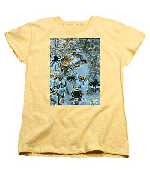 Break Free Women's T-Shirt (Standard Cut) by Vennie Kocsis