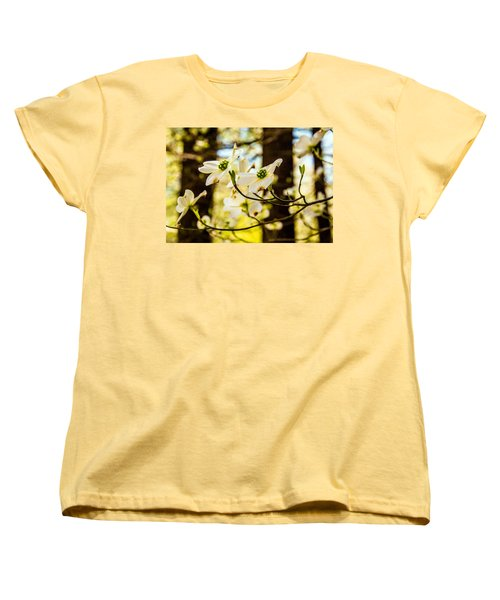 Dogwood Day Afternoon Women's T-Shirt (Standard Cut) by John Harding