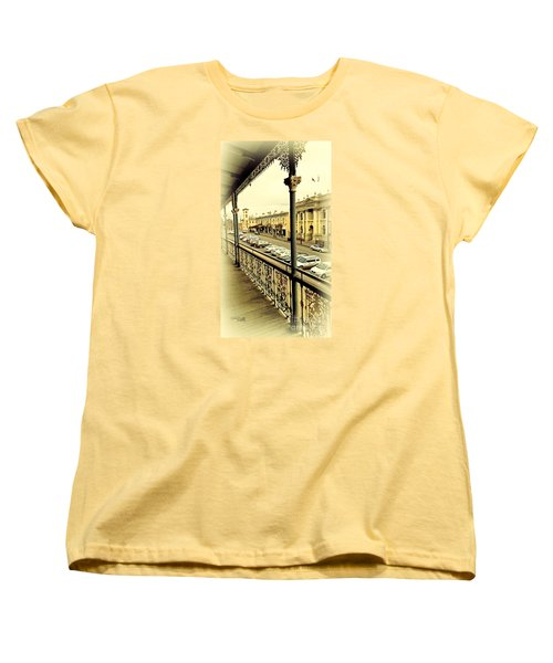 Women's T-Shirt (Standard Cut) featuring the photograph Downtown Daylesford II by Chris Armytage