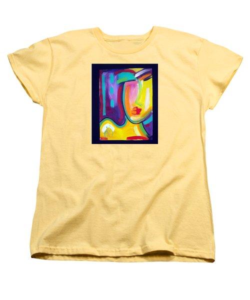 Face Women's T-Shirt (Standard Cut) by Heather Roddy