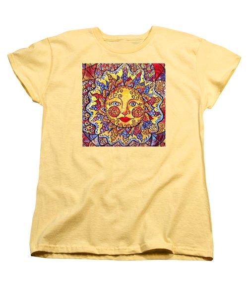 Fiesta Sun Women's T-Shirt (Standard Cut) by Megan Walsh