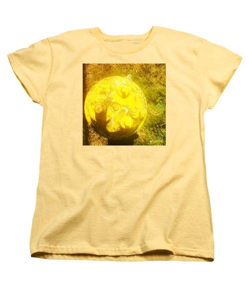 Fire Hydrant #4 Women's T-Shirt (Standard Cut) by Suzanne Lorenz