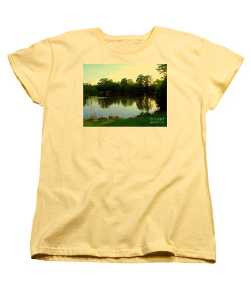 Forest Park Women's T-Shirt (Standard Cut) by Nancy Kane Chapman