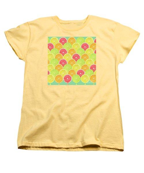 Fresh Fruit  Women's T-Shirt (Standard Cut) by Mark Ashkenazi