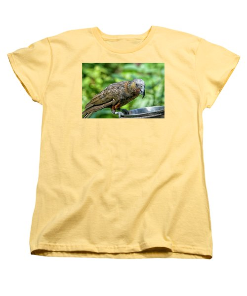 Women's T-Shirt (Standard Cut) featuring the photograph Kaka by Patricia Hofmeester
