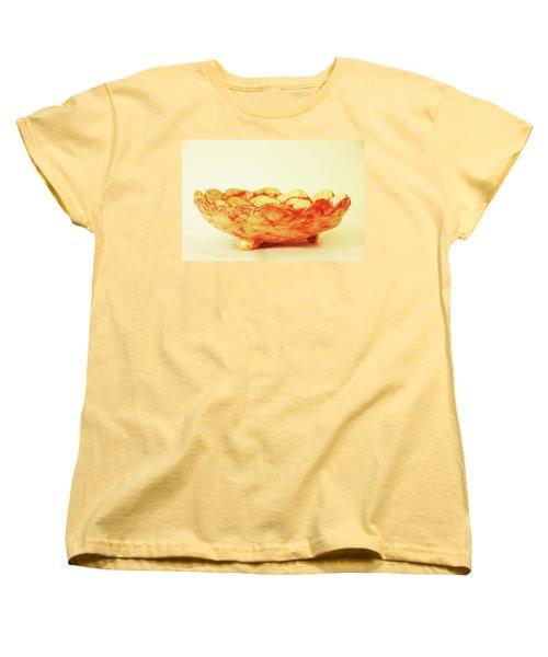 Medium Patches Bowl1 Women's T-Shirt (Standard Cut) by Itzhak Richter