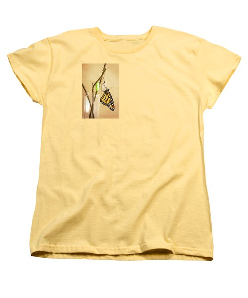 Monarch Butterflies Women's T-Shirt (Standard Cut) by Rich Franco