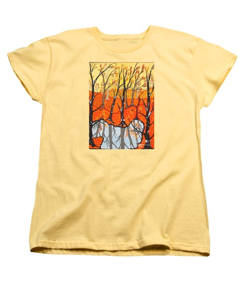 November Morning  Women's T-Shirt (Standard Cut) by Jeffrey Koss