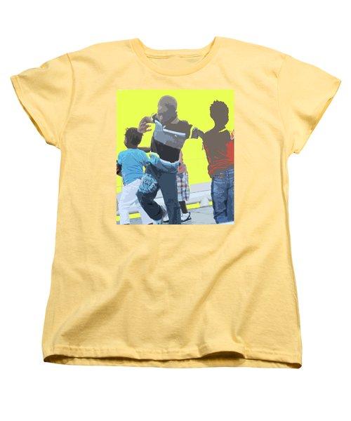 Play Women's T-Shirt (Standard Cut) by Ian  MacDonald