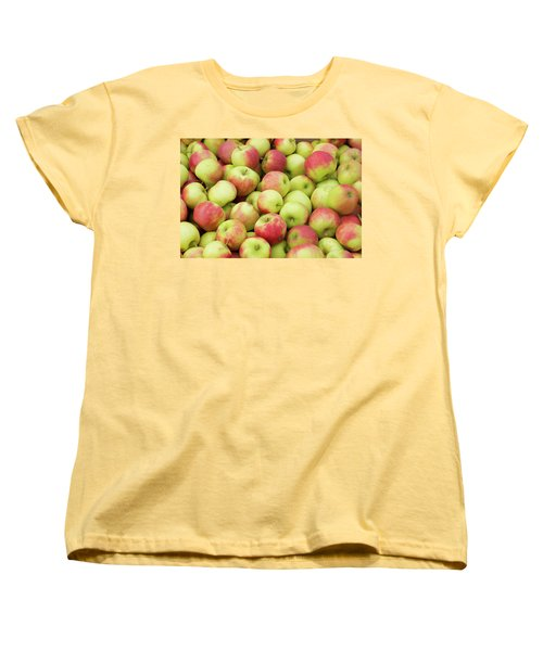Ripe Apples Women's T-Shirt (Standard Cut) by Hans Engbers