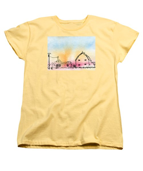 Rural Nostalgia Women's T-Shirt (Standard Cut) by R Kyllo
