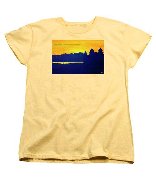 Saltair Sunset Women's T-Shirt (Standard Cut) by Jane Autry