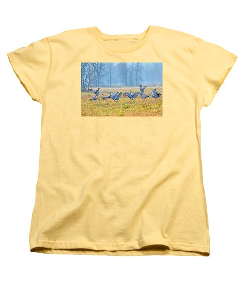 Women's T-Shirt (Standard Cut) featuring the photograph Saturday Night by Tony Beck