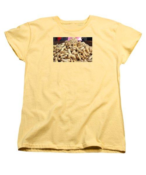 Steamed Peanuts Women's T-Shirt (Standard Cut)