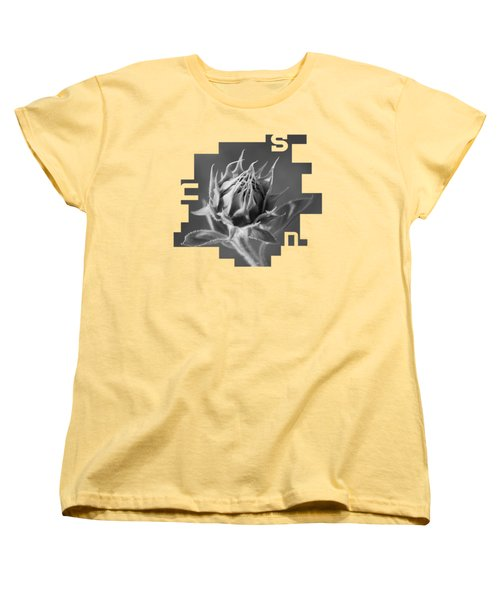 Sunflower Women's T-Shirt (Standard Cut) by Konstantin Sevostyanov