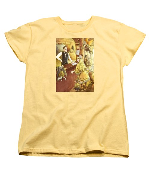 Tammy And The Postmaster Women's T-Shirt (Standard Cut) by Reynold Jay