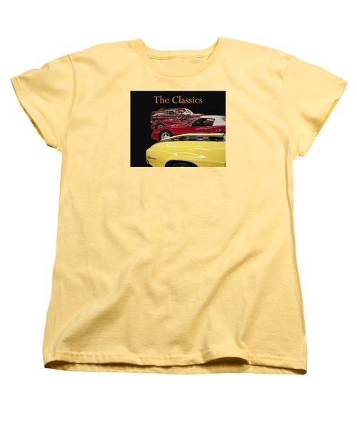 The Classics Women's T-Shirt (Standard Cut)