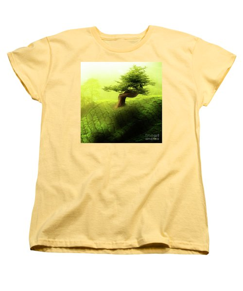 Tree Of Life Women's T-Shirt (Standard Cut) by Mo T
