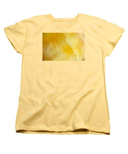 Women's T-Shirt (Standard Cut) featuring the photograph Yellow by Corinne Rhode