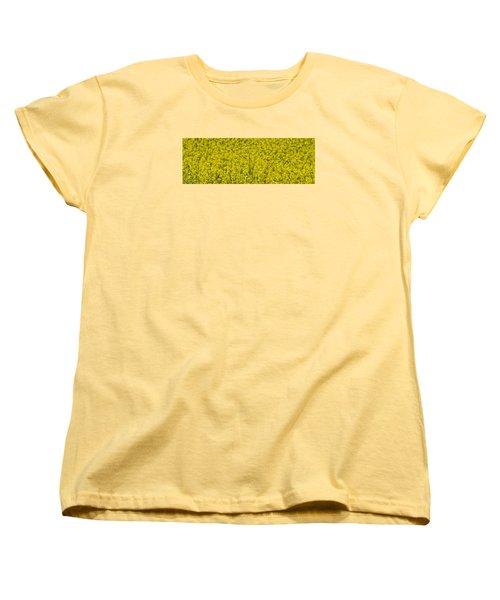 Yellow Women's T-Shirt (Standard Cut)
