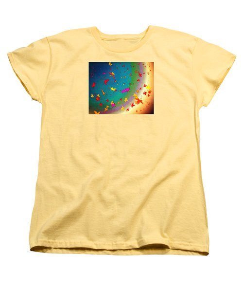 Women's T-Shirt (Standard Cut) featuring the digital art 103 by Timothy Bulone