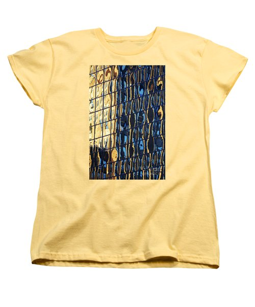 Abstract Reflection Women's T-Shirt (Standard Cut) by Tony Cordoza