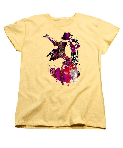 Michael Jackson Collection Women's T-Shirt (Standard Cut) by Marvin Blaine