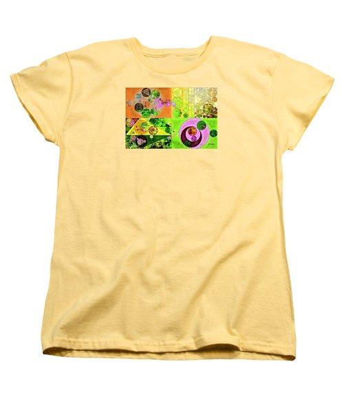 Abstract Painting - Turtle Green Women's T-Shirt (Standard Cut) by Vitaliy Gladkiy