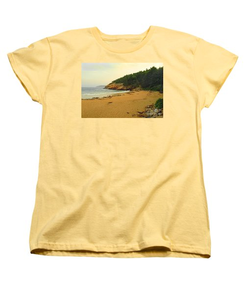 Acadia  Women's T-Shirt (Standard Cut) by Raymond Earley