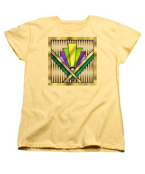 Art Deco 14 Transparent Women's T-Shirt (Standard Cut) by Chuck Staley
