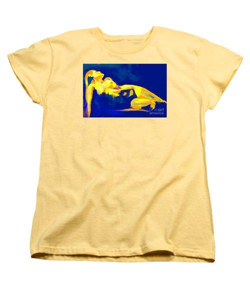 Evening Nude Women's T-Shirt (Standard Cut) by Helena Wierzbicki