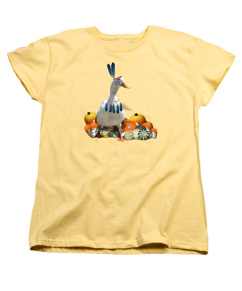 Indian Duck Women's T-Shirt (Standard Cut) by Gravityx9 Designs