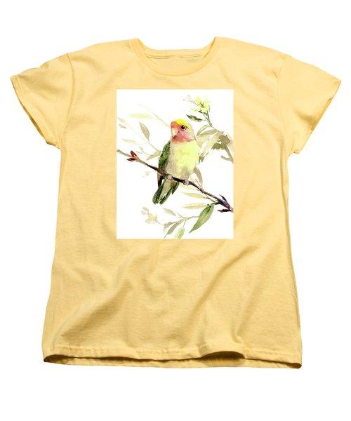 Lovebird Women's T-Shirt (Standard Cut) by Suren Nersisyan