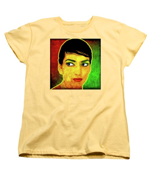 Maria Callas Women's T-Shirt (Standard Cut)