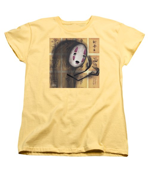 No Face Women's T-Shirt (Standard Cut) by Abril Andrade Griffith