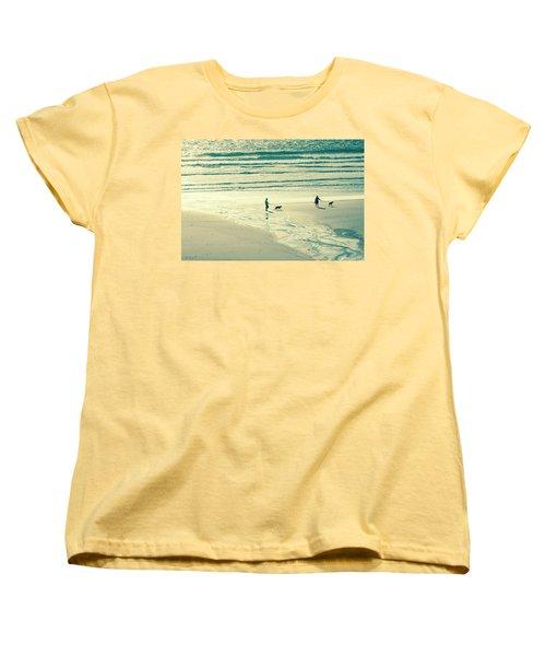 Oceanside Oregon Women's T-Shirt (Standard Cut) by Amyn Nasser